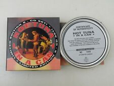 HOT TUNA - IN A CAN - LIMITED EDITION NUMBERED METAL BOX 5 CD MINT - RARE&OOP-VR