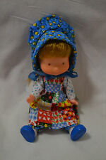 "Holly Hobbie doll with full outfit, Knickerbocker Toy Company 6"" 1976"