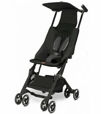 Goodbaby GB Pockit Compact Stroller in Monument Black Brand New!!