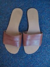 Next Women's 100% Leather Slip On, Mules Sandals & Beach Shoes