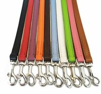 Leather Dog Lead Leashes ,Dog Lead Dog collar set 100 cm Long 1 cm Wide