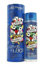 Ed Hardy Love & Luck for Men 6.8 Oz EDT Eau De Toilette Spray