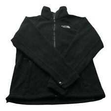 """The North Face Mens Fleece TNF Black Size Small Winter Outdoor Vintage P2P 19"""""""