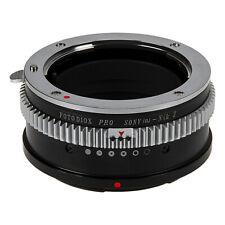 Fotodiox Pro Lens Adapter Sony A-Mount MAF Lens to Nikon Z-Mount Z6 and Z7