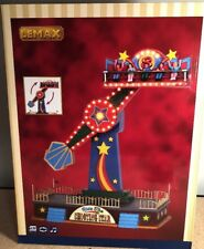 Lemax Ride The SHOOTING STAR - Animated Carnival Ride w/ Sound & Lighting