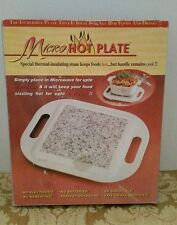 Micro Hot Plate Thermal Stone For Cooking With Handles New In Box