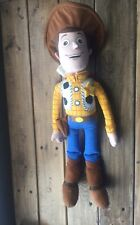 "Disney Parks Pixar Toy Story Woody Plush Doll Stuffed Toy - 16"" New"