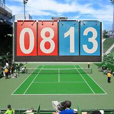 Sports Flip Scoreboard 99 Score Portable Multi-Purpose File Style Accessory ige