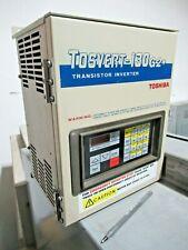 TOSHIBA TOSVERT-130 VT130G+2035, 3HP, TRANSISTOR INVERTER +TEST REPORT  -V14