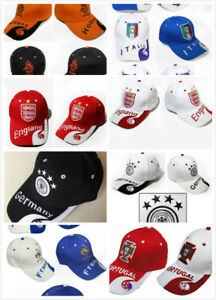 National Football Soccer Snapback Hat Adjustable Baseball Cap FCB/Real Madrid/MU