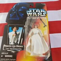 "STAR WARS The Power of the Force PRINCESS LEIA ORGANA 3.75"" Action Figure"