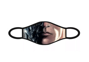 Adults Teens Terminator Arnie Face Mask Washable Reusable Fabric Face Covering