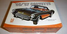 MPC 1956/57 BUDD ANDERSON CORVETTE VINTAGE 1/25 Model Car Mountain #301