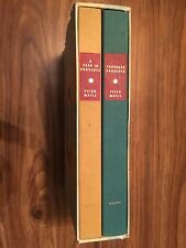 Peter Mayle - TOUJOURS PROVENCE - 1992 [Set of 2 w/case