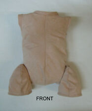 "Doe Suede Body for 21-22"" Dolls Full Unjointed Arms 3/4 Jointed Legs #1495"