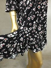 FRENCH CONNECTION DRESS FCUK FLORAL FORMAL SKIRT DRESS - SIZE 14