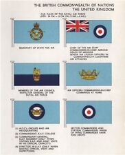 ROYAL AIR FORCE CAR FLAGS. Secretary of State for Air. Chief of Air Staff 1958