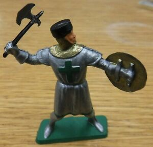 Vintage STARLUX 1970's, Medieval Knight, 54mm scale plastic. (a)