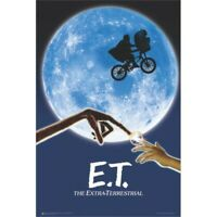 "ET: THE EXTRA TERRESTRIAL - MOVIE POSTER - SPIELBERG - 91 x 61 cm 36"" x 24"""