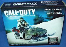 MEGA BLOKS 06812 CALL OF DUTY Mountain Recon Figure Snow Mobile modern warfare