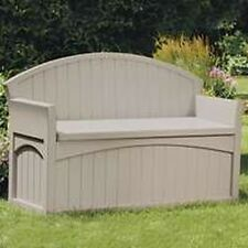 NEW SUNCAST PB6700 50 GALLON LARGE PATIO STORAGE BENCH 4938189 50 GALLON