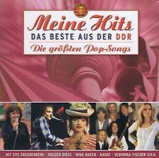 Le meilleur de la rda CD lakomy Nina Hagen carats rouge guitares Osterkamp Freudenberg
