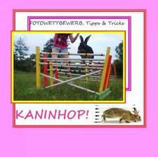 Kaninhop! Kaninhop Broschüre Kaninchensport Ratgeber Kanin-Hop Bunny Sport Tiere