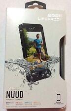 """LifeProof Nuud Series Waterproof Case for iPhone 6s (4.7"""") - Black"""