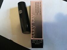 MARY KAY POWERFUL PINK LIPSTICK GEL SEMI MATTE NEW IN BOX