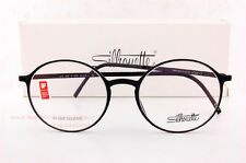 New Silhouette Eyeglass Frames URBAN LITE FULLRIM 2901 6050 Black Unisex SZ 49