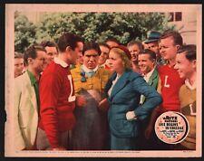 LIFE BEGINS IN COLLEGE Lobby Card (Good+) 1937 Ritz Brothers John Davis 15594