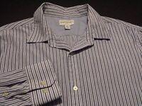 Banana Republic Mens XL Long Sleeve Button-Front Multicolor Striped Shirt