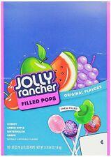 Jolly Rancher Fruit Chew Lollipops 100 Count Box
