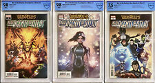 The War of Realms Agents of Atlas 1 & 2 CBCS 9.8 & 7.5 not CGC And Issues 3-4🔥