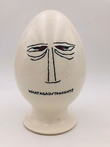 "Lagardo Tackett Schmid 1959 ""what again tonight?"" Egg head"