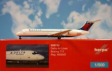 Herpa Wings 1:500  Boeing 717  Delta Air Lines N935AT  528733