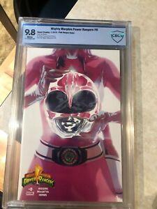 Mighty Morphin Power Rangers #0 - Pink  Ranger Cover - CBCS 9.8 Graded - 2016