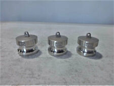 Lot Of 9 Dixon Boss Lock Cam Amp Groove Type Dust Plug 200 Dp Ss 316 Stainless