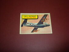 PLANES trading card #47 TOPPS 1957 Army Navy Marines Air Force WORLD AIRPLANES