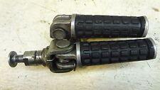 1993 Kawasaki ZX600 ZX 600 ZX6 K413-1' front driver foot peg rest set pair