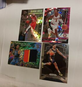 NICKEIL ALEXANDER - WALKER RC PRIZM, STEVEN ADAMS PATCH PRIZM /25, INGRAM STAR