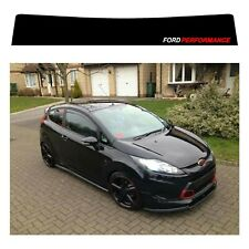 Ford Fiesta sunstrip for a gen6 2008 onwards - pre cut, no trimming required!