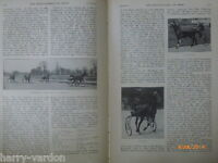Toboggan Trotting Pacing Trout Tuna Fly Fishing Antique Rare Old Articles 1912