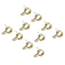10x Pince à Ressort Colliers de Serrage pr Tuyau Tube d'air Eau Huile -6mm