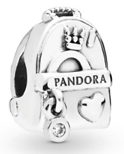 Pandora Adventure Bag Charm With Clear CZ