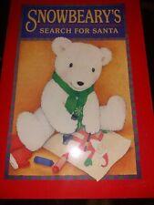 Vintage Children's Christmas book 1999 Hallmark Snowbearys search for santa