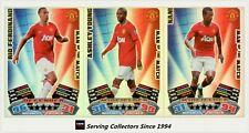2011-12 Match Attax EPL Soccer Man Of Match Foil Card Team Set (3)-Manchester U.
