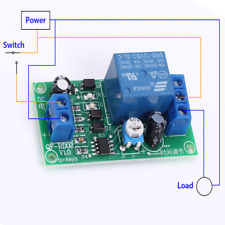 DC 12V NE555 Timing Timer Delay OFF Relay Module Board 0-60s Adjustable 5mA