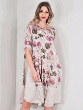 LAGENLOOK LMT Gorgeous Blossom Cotton Summer Dress UK 10 12 14 New