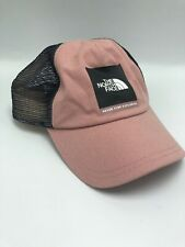 The North Face Pink Womens Hat - Never Stop Exploring - Baseball Cap One Size